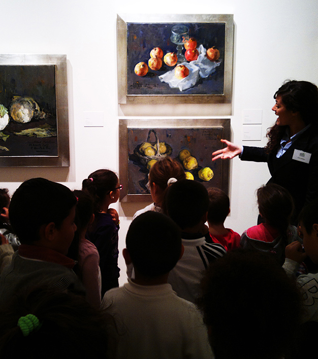 VISITA GUIADA ESCOLARES INFANTIL art&museum-1