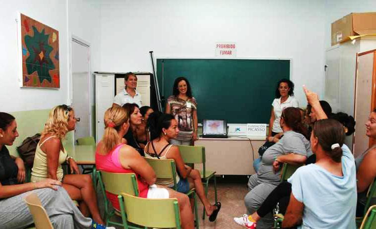modulo mujeres Alhurin de la Torre- ar t&museum- Fundacion Picasso- Caixa