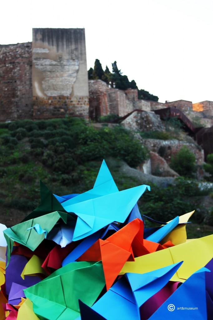 palomas mensajeras Picasso- Alcazaba-art&museum