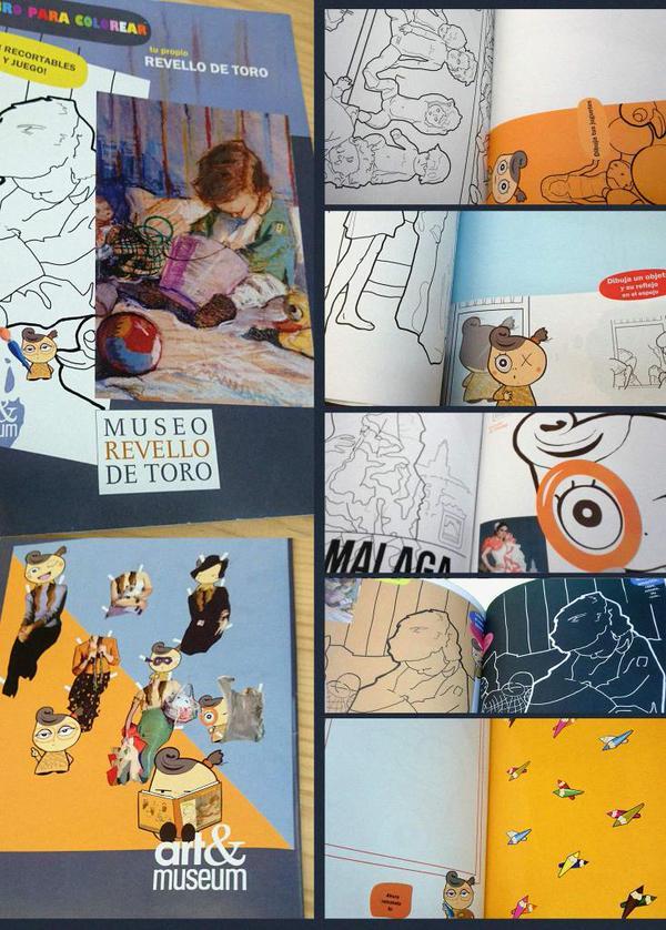 MUSEO REVELLO DE TORO - Libro de colorear