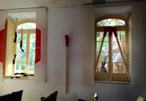 cerillas gigantes art&museum La Termica