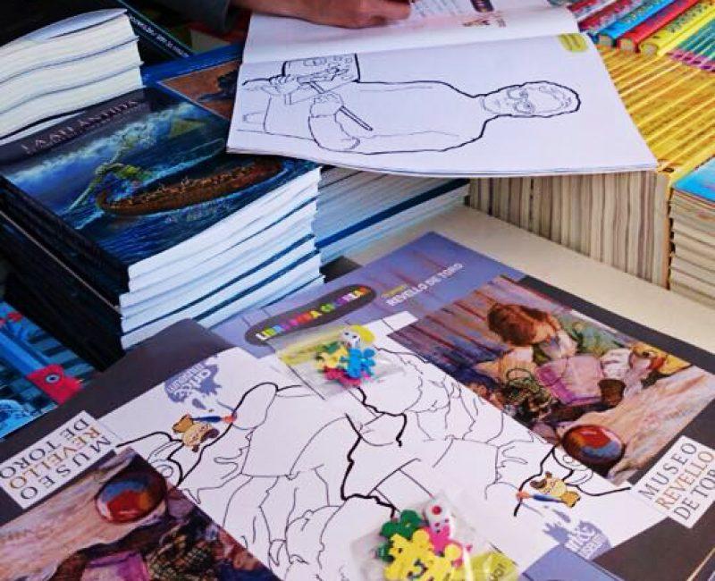 libro para colorear tu Revello de Toro